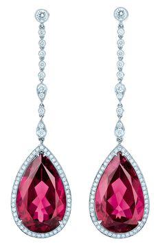 joyas con gemas de color rojo...Tiffany!!!!