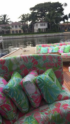 Lilly yacht. Yes please