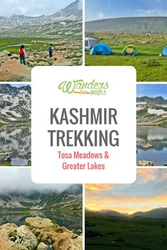 My first Kashmir Trek was in the Tosa Maidan and the Greater Lakes in the Bugdam District. This Himalayan heaven truly lived up to my expectations and beyond.