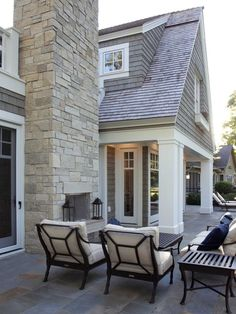 Indoor Outdoor Fireplace Design, Pictures, Remodel, Decor and Ideas - page 3