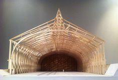Model of the Sea Folk Museum, Hiroshi Naïto, Japan on Behance: