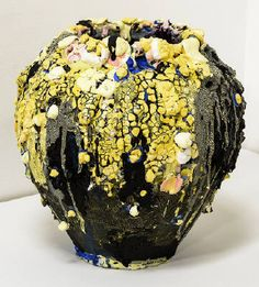 Two Shows with Brian Rochefort Focus on his Painting Organic Ceramics, Modern Ceramics, Contemporary Ceramics, Contemporary Paintings, Ceramics Ideas, Pottery Bowls, Pottery Art, Abstract Sculpture, Ceramic Sculptures