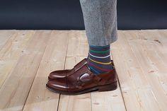 Barevné ponožky SocksInBox Nature (detail) Men Dress, Dress Shoes, Marceline, Loafers Men, Oxford Shoes, Model, Dresses, Fashion, Vestidos