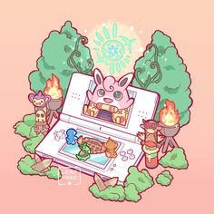 """Y.☆ Leaphere on Twitter: """"The Guild #pokemonmysterydungeon… """""""