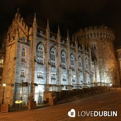 looms impressively over the centre of the city! Dublin Castle, City Break, Great Britain, Big Ben, Places Ive Been, Centre, Ireland, January, Places To Visit