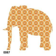 retro wallpaper elephant
