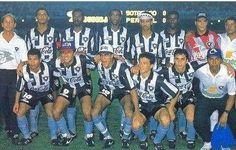 Time do Botafogo campeão da Copa Conmebol de 1993.