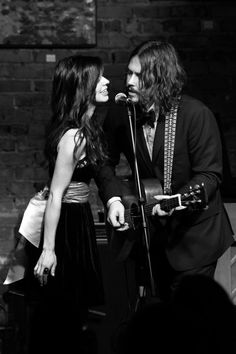 The Civil Wars ♥. So much talent. If you've never heard John Paul and Joy Williams sing, you're being rude to your ears.