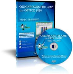 Quickbooks Pro 2012 and Microsoft Office 2010 Training DVD - by Simon Sez IT From $23.00 Software Amazing Discounts Your #1 Source for Software and Software Downloads! Click On Pins For More Info Getpricesoftware.com