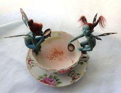 Teacup Fairies. Je vais finir par aimer le thé