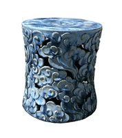 Chinese Cloud Stool * Blue  $495.00
