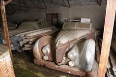 Over $18 Million Worth Of Classic Cars Was Found In A 100-Year-Old French Barn