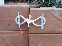 Lake house gate latch