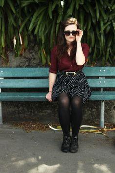 Fall 2013 Fashion Trend: Burgundy | Dilettante Deconstructed /// burgundy, one of my fav shades