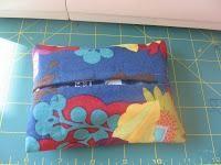 DIY  Tissue Holder  : DIY  Fabric Tissue Holder