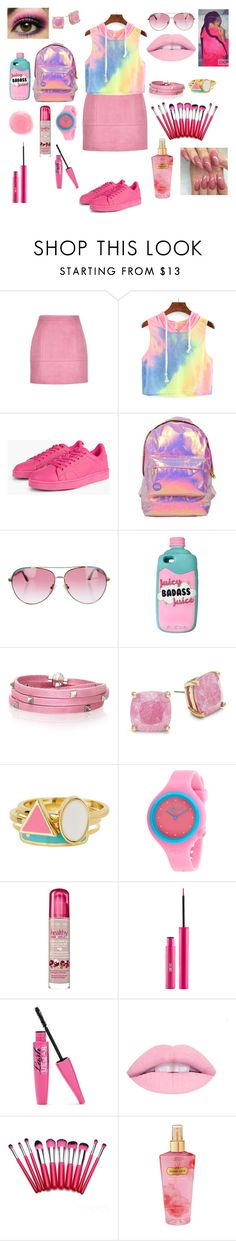 """""""Untitled #129"""" by ravenmk ❤ liked on Polyvore featuring Miss Selfridge, Minnie Rose, Sif Jakobs Jewellery, Kate Spade, Ariella Collection, Rip Curl, Bourjois, Rituel de Fille and Victoria's Secret"""