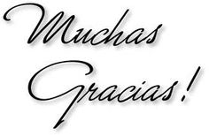Thank You! From Parra Electric, Inc. Thank You In Spanish, Good Day Wishes, My Life Quotes, Thanks Card, Spanish Quotes, Spanish Phrases, Happy B Day, Caligraphy, Thank You Notes