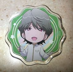 Cute High Earth Defense Club Love! Acrylic Badge IBUSHI 2 Contents Seed Licensed