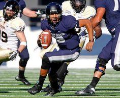 Utah State quarterback Chuckie Keeton