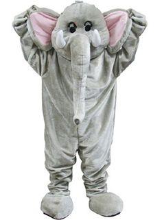 Mascotte Elefante 'Paradise Coldplay'