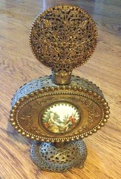 Ornate French Perfume Bottle from the 1800's