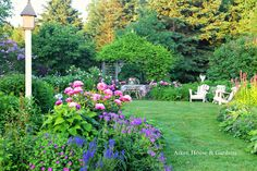 our early July garden - ✳   #Home  #Landscape #Design via Christina Khandan, Irvine California ༺ ℭƘ ༻   IrvineHomeBlog