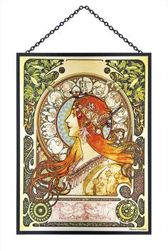 - Mucha Zodiac Glass