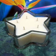 Bird of Paradise PURE SOY Star Container Candle 11 oz.