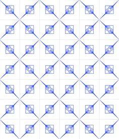 Azulejos Leque Duplo