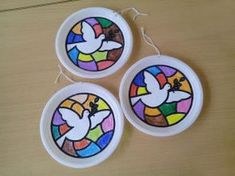 Bible School Crafts, Bible Crafts For Kids, Sunday School Crafts, Projects For Kids, Art For Kids, Peace Art, Peace Dove, Easter Art, Easter Crafts