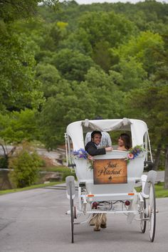 Make a grand exit at your wedding!
