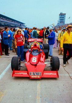 Mario andretti 1976 Indy 500 PENSKE CAM2 McLaren