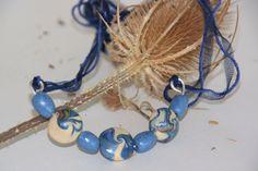 Swirl cone beads.