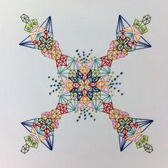 Rae Miranda Textile Fiber Art, Thread Art, Arts And Crafts, Textiles, Cards, Gift Crafts, Maps, Art And Craft, Cloths