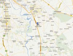 Gaur Yamuna City Location Map by IndiaPropertyZone.com