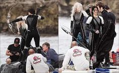 Catching Fire! It's coming i am really excited. They are shooting it awesome