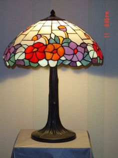 tiffany lamps | tiffany lotus table lamp lucky tiffany lamps factory w16 xh 25 made in ...
