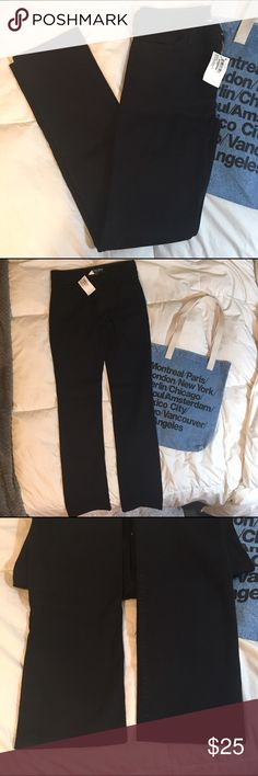 American Apparel Black Denim Stretch Bull Denim Slim Slack in the color: Almost Black. Fits true to size. Brand new with tags. No trades. American Apparel Jeans Straight Leg