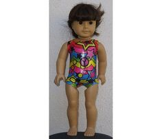 Circus Gymnastics Leotards that fit an American Girl Doll