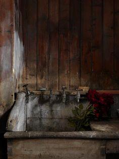 WOOD SINK Simon Brown, Flower Sink, Tullanally, 2009.