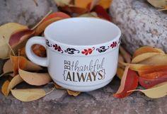 Burton Avenue: Be Thankful Sharpie Mug