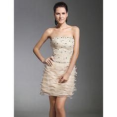 VOLLINA - Vestido de Cóctel de Satén y Encaje – MXN $ 1,592.84