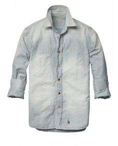 Souvenir de Tokyo | Vintage Japanese chambray shirt by Scotch & Soda
