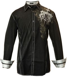 awesome new black woven from Roar Clothing - available at www.flyclothing.com