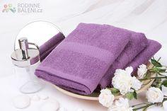 Froté ručník VERONA - fialová 50x90 cm
