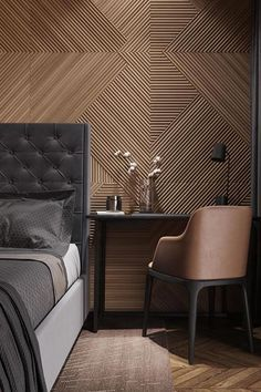 Wall Texture Design for Living Room. Wall Texture Design for Living Room. 99 Inspiring Modern Wall Texture Design for Home Interior Home Bedroom, Modern Bedroom, Bedroom Decor, Bedroom Ideas, Contemporary Bedroom, Bedroom Lighting, Modern Wall, Bedroom Designs, Modern Hotel Room