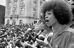 Angela Davis, a Prisoner rights activist & founder of Critical Resistance, an organization working to abolish the prison-industrial complex, returns to UCLA 45 years after being fired