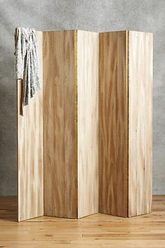 Ok, Anthropologie often asks for CRAZY prices on things, but this is literally plywood and they want almost $2000. #crazy Tove Folding Wall #anthropologie