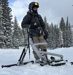 SNOGO - Revolutionary Ski-Bike combines mountain biking and skiing. www.snogo.us