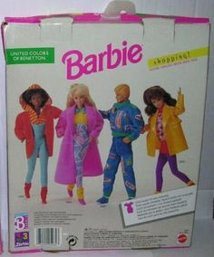 Benetton Shopping CD1991 Barbie Benetton, Barbie Clothes, Outfit, Clothing, Shopping, Color, Style, Fashion, Outfits